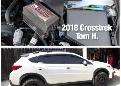 Crosstrek split