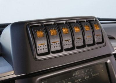 Ram truck housing amber
